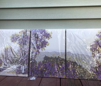 Wall decorations For Home Canvas Ready To Hang Modern Nature artwork