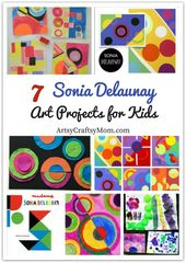 Learn all about the amazing artist Sonia Delaunay with these 7 Gorgeous Sonia De…