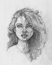 Pencil Sketch Artist Ani Cinski