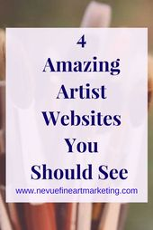 4 Amazing Artist Websites You Should See. Plan before you start building your Ar…