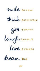 POSITIVE QUOTE CITATION SMILE SUCCESS