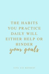 Your Habits Should Match Your Health Goals
