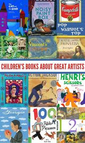 12 fabulous picture books that each explore the lives and artwork of a range of …