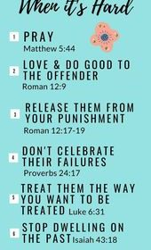 How to Forgive When It's Hard!