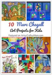 Marc Chagall believed in painting from the heart and that's what he did! Lea…