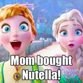 The pure and uncontainable joy. | 17 Pictures Disney And Nutella Lovers Will Thi…