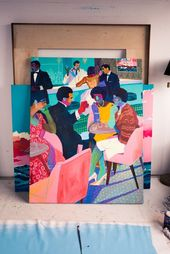 Artist Andy Dixon Talks About Painting Luxury Objects and an Art Taboo: We visit…