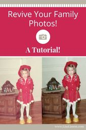 "Restore your old family photos and discover new clues to your family history! ""F…"