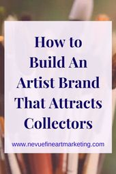The importance of an artist brand is essential to the development of their busin…