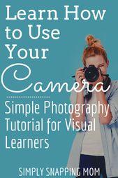 Simple Photography Tutorials