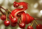 Fruit Dragons By Russian Artist Alexandra Khitrova | Bored Panda