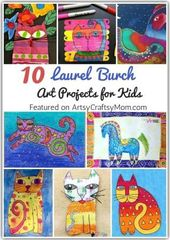 Laurel Burch was an artist who fought through adversities & ended up shining thr…