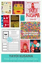 Yayoi Kusama- Free Artist Study and Booklist – The Kitchen Table Classroom