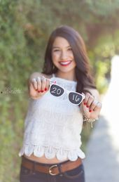Sunglasses Senior Picture Idea by Oh So Purdy Photography and other great senior…