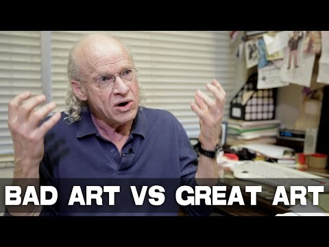 Biggest Difference Between Bad Art and Great Art by UCLA Professor Richard Walter