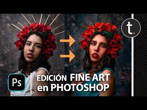 CÓMO HACER FOTOGRAFÍA FINE ART 📸  PASO A PASO (Photoshop) Tutorial 2021