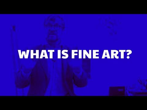 What Is Fine Art?