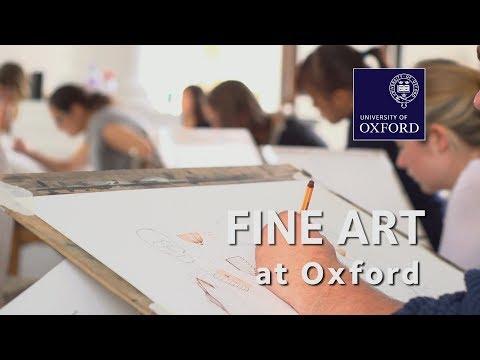 Fine Art at Oxford University