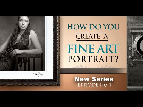 How to Create a Fine Art Portrait. What Makes a Photographic Portrait Art? Digital and Film Session