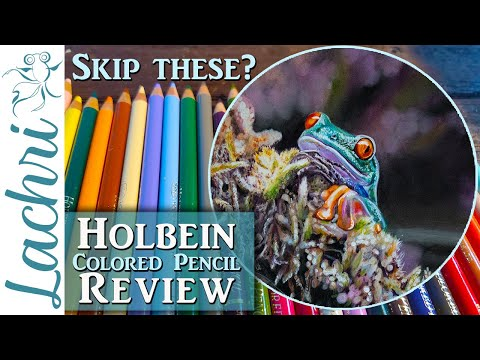 Holbein Colored Pencil Review from a Professional Artist – Lachri