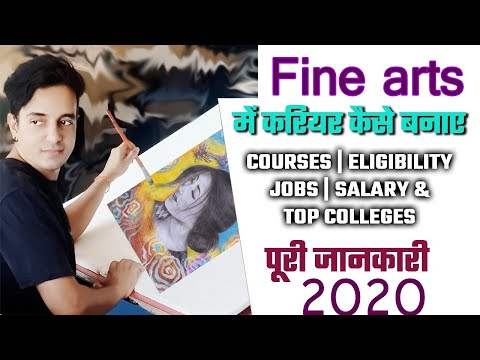 career in fine art   scope in fine art   arts career   top 10 fine art colleges of India   art jobs