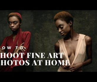 How to shoot fine art portraits in your home.