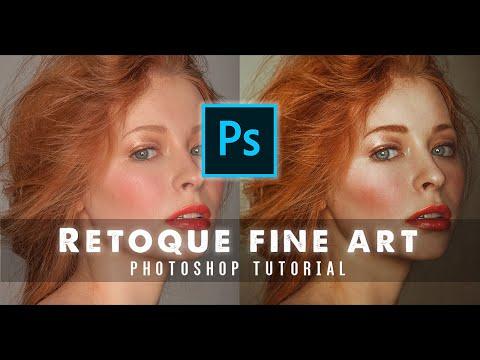 🎨RETOQUE FINE ART✍️ | Photoshop Tutorial