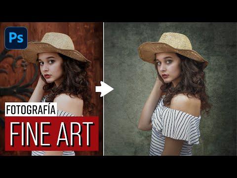Tutorial Photoshop   Cómo crear el estilo Fine Art en tus fotos