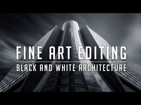 FINE ART ARCHITECTURE PHOTOGRAPHY – Editing Tutorial – 7 Step Workflow for Black and White Mastery!