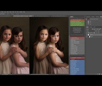 LSP – Portrait Studio Vogue PS Actions Fine art edit 2