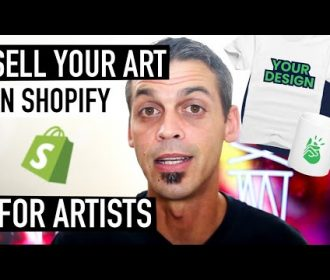 BASIC SHOPIFY TUTORIAL FOR ARTISTS – Sell Your Art + FAVORITE APPS   Printify   Fine Art America