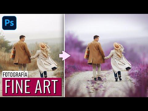 Tutorial Photoshop   Cómo crear una fotografía estilo Fine Art