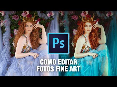 👑COMO EDITAR FOTOS FINE ART EN PHOTOSHOP 😍// Tutorial de Fotografía Fine Art // Fotografía Artística