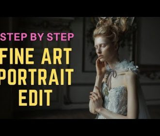 Step by Step Retouching Tutorial – A FINE ART PORTRAIT 2