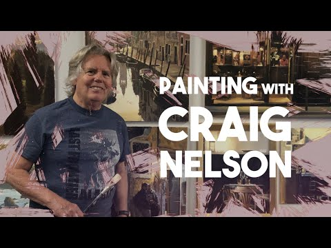Fine Art Painting with Craig Nelson: Ep 69   Academy of Art University