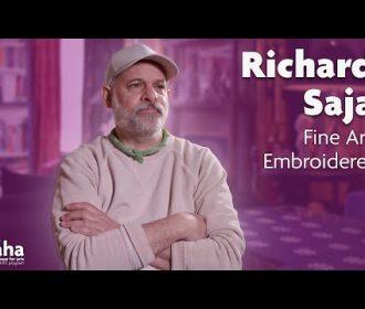 Fine Art Embroidery with Richard Saja   AHA! A House for Arts