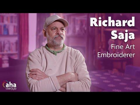 Fine Art Embroidery with Richard Saja | AHA! A House for Arts