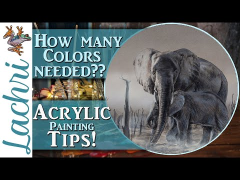 Color Tips for Acrylic Painting! – Lachri